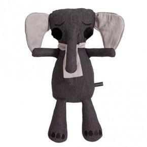 Roommate Elefant Gosedjur - Antracit
