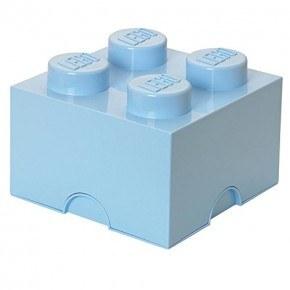 LEGO Förvaring 4 - Ljusblå