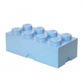 LEGO Förvaring 8 - Ljusblå
