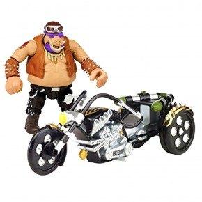 Turtles Bebop Med Motorcykel