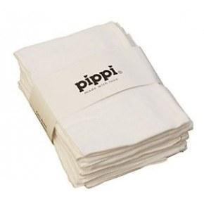 Pippi Muslinfilt 8-pack - White