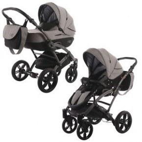 Knorr-Baby Voletto Carryo Kombivagn - Svart/Grå