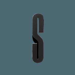 Design Letters Trä Bokstav S - Svart