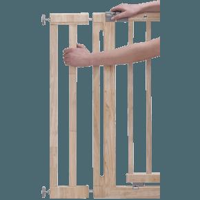 Safety 1st Förlägningsdel Till Easy Close Wood Säkerhetsgaller - Brun