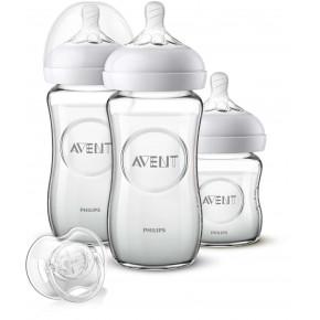 Philips Avent Natural startpaket - glas