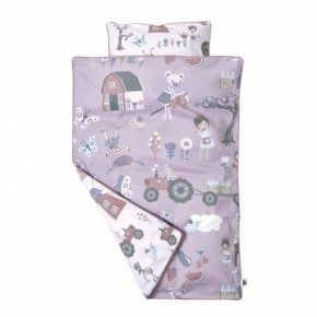 Sebra Farm Junior Sängkläder - Rosa