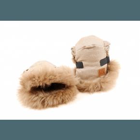 Kaiser Zottel Single Handvärmare - Cappuccino/Sand Melange