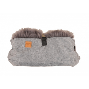 Kaiser Zottel Double Handvärmare - Grey/Antracit Melange