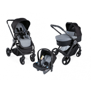 Chicco Best Friend Trio Light kombivagn, Crossover - Stone