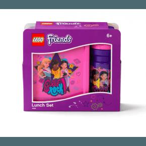 LEGO Matlåda och vattenflaska- Friends