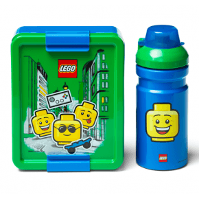 LEGO Matlåda och vattenflaska - Iconic Boy
