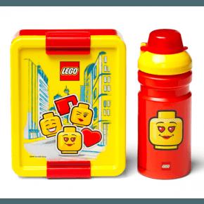 LEGO Matlåda och vattenflaska- Iconic girl