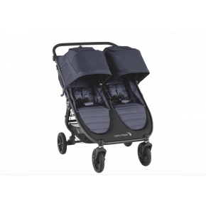 Baby Jogger City Mini GT 2 Double Syskonvagn - carbon 2020