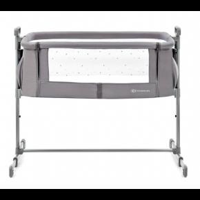 Kinderkraft NESTLE bedside crib - gray