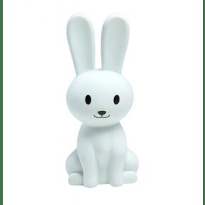 Tiny Republic Kanin LED Nattlampa - Vit