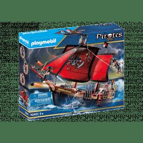 PLAYMOBILPirates Skull Pirate Ship - 70411