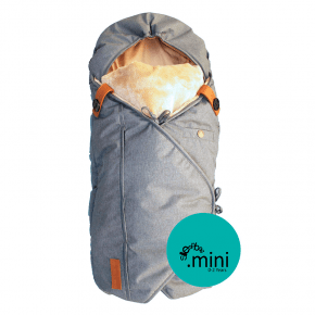 SLEEPBAG Mini Carrying Bag - Grå melange