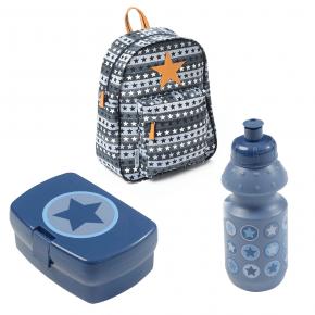 Smallstuff Ryggsäck - Matlåda/flaska - stor blå Ryggsäck