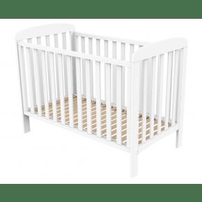 Sofie Cot Bed w. Släpp sida vid sida BABY DAN barnsäng 60x120 cm - vit