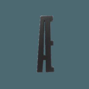 Design Letters Trä Bokstav Æ - Svart