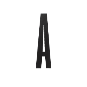 Design Letters Trä Bokstav A - Svart