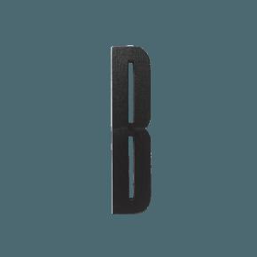 Design Letters Trä Bokstav B - Svart