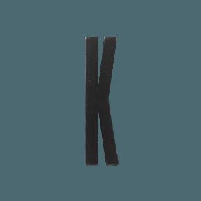 Design Letters Trä Bokstav K - Svart