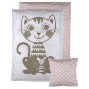 Roommate SoulMate Katt Baby Sängkläder