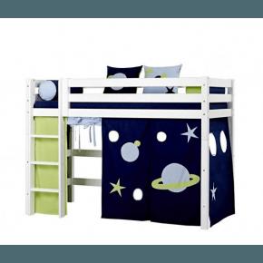 Hoppekids Gardin till mellanhög säng (90x200) - Space
