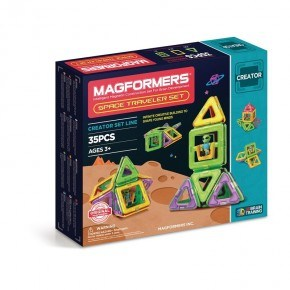 Magformers Byggsats Space Travel Set