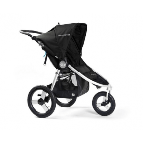 Bumbleride Speed Joggingvagn - Silver Black
