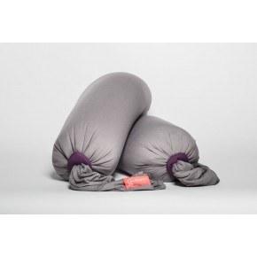 Bbhugme Gravid- och Amningskudde - Grå