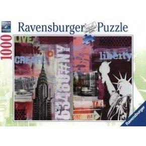 Ravensburger Style Collage Pussel 1000 Bitar