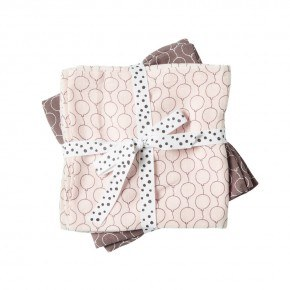 Done By Deer 2-Pack Balloon Swaddle - Rosa