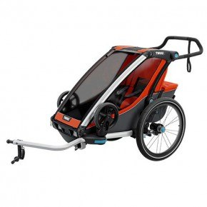 Thule Chariot Cross 1 Multisportvagn- Roarange/Dark Shadow