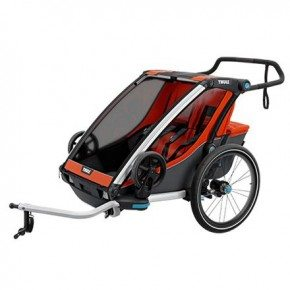 Thule Chariot Cross 2 Multisportvagn - Roarange/Dark Shadow