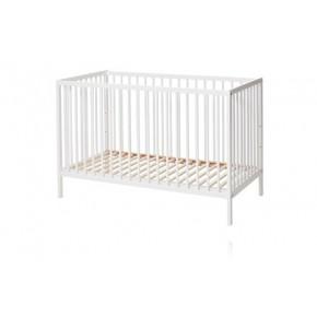 Baby Dan Comfort Spjälsäng 60 x 120 cm - Vit