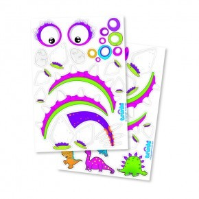 Trunki Klistermärken Dino - Lila