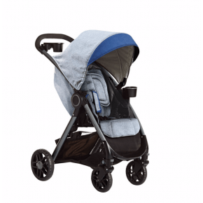 Graco Fast Action DLX Travelsystem - Grå
