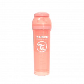Twistshake Anti-kolik nappflaska 330ml - Pastel persika