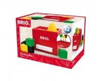 BRIO Plocklåda - Röd - 30148
