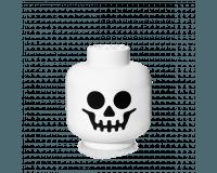 LEGO Förvaringshuvud, skelett - Liten