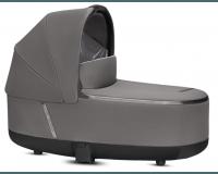 Priam Lux Carry Cot - Manhattan Grey