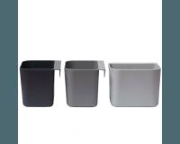 Leander Förvaringslådor  3pk - Dusty Grey