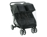 Baby Jogger regnskydd - City Mini 2/GT 2 -  double