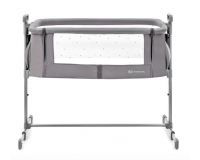 Kinderkraft NESTLE bedside crib - gray